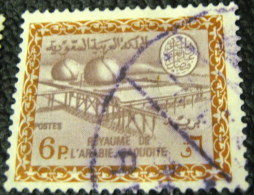 Saudi Arabia 1960 Oil Refining Plants 6p - Used - Saudi Arabia