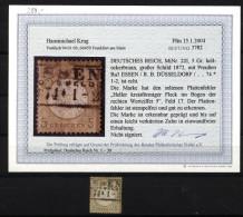 D.R.Nr.22 I,o Befund  (6090) - Duitsland