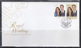 Australia 2011 Royal Wedding, HRH Prince William & Catherine Middleton FDC - FDC