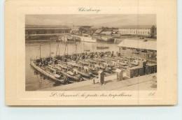 CHERBOURG  - L´arsenal Le Poste Des Torpilleurs. - Krieg