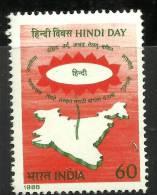 India, 1988, Hindi Language Day,   MNH,  (**) - Inde