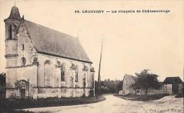 CARTE POSTALE ORIGINALE ANCIENNE : CAUVIGNY ; LA CHAPELLE DE CHATEAUROUGE ; OISE (60) - France