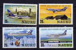 Nauru - 1980 - 10th Anniversary Of Air Nauru - MNH - Nauru