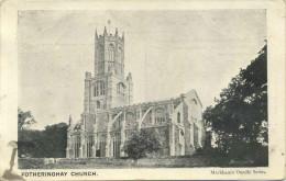NORTHANTS - FOTHERINGAY CHURCH  N117 - Northamptonshire