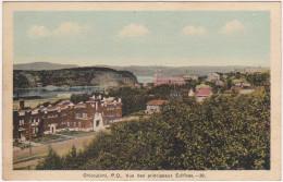 Chicoutimi - P. Q. - Vue Des Principeaux édifices - Chicoutimi