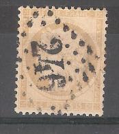 CERES N° 59 , 15 C Bistre, Obl GC 246 De AUTUN, Saone Et Loire ,TB - 1871-1875 Cérès
