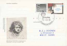 Nederland - Eerste Stempeldag Filatelieloket - Rotterdam - 12 Mei 1987 - Geuzendam 362 - Postal History