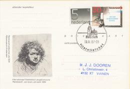Nederland - Eerste Stempeldag Filatelieloket - Heerlen - 30 November 1987 - Geuzendam 362 - Poststempels/ Marcofilie