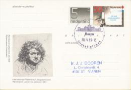 Nederland - Eerste Stempeldag Filatelieloket - Baarn- 30 April 1989 - Geuzendam 362 - Postal History