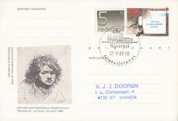 Nederland - Eerste Stempeldag Filatelieloket - Nijverdal - 27 September 1989 - Geuzendam 362 - Postal History