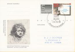 Nederland - Eerste Stempeldag Filatelieloket - Zwolle - 7 November 1990 - Geuzendam 362 - Postal History