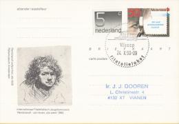 Nederland - Eerste Stempeldag Filatelieloket - Weesp - 24 Oktober 1990 - Geuzendam 362 - Postal History