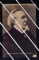 Revolução 5 De Outubro 1910 Lisboa Dr MANUEL D´ARRIAGA 1st Republic President 1911 Postcard Portugal 5201 - Unclassified