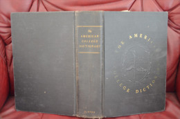 The American College Dictionary 1948 - Livres, BD, Revues
