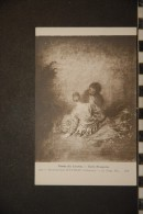WATTEAU (Jean-Antoine) - Le Faux Pas (ND Phot. 1372) - Peintures & Tableaux