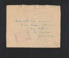 Lettre 1918 Francise Militaire ALGP - Poststempel (Briefe)