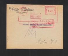 Lettera 1932 Trieste Credito Italiano - 1900-44 Victor Emmanuel III.