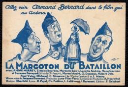 CINEMA - FILM - LA MARGOTON DU BATAILLON - ARMAND BERNARD - LUNA FILMS PARIS - SPEELDE IN DE NOVA IN KNOKKE LIPPENSLAAN - Unclassified