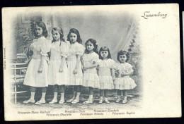 Cpa Grand Duché Du Luxembourg Prinzessin Maria , Hilda , Elisabeth , Charlotte , Antonia , Sophie ,   LEG7 - Cartes Postales