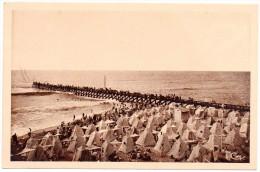 CP, 40, CAPBRETON-sur-MER,  La Plage Et L'Estacade, Voyagé En 1946 - Capbreton