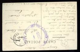 Cpa  Du 44 Ancenis Les Bords De La Loire Au Dos Cachet 120/320 Régiment Infanterie Franchise Postale   LEG7 - Ancenis
