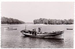 CP, 40, CAPBRETON, Vue Sur L'Entrée Du Canal Et La Plage Du Bourret, Vierge - Capbreton