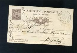 S4840 CARTOLINA POSTALE PALERMO TIMBRO S. MAURO CASTELVERDE - Palermo