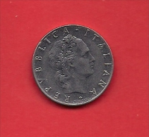 ITALY, 1964, Circulated Coin XF, 1 Lira, Stainless Steel, KM95, C1920 - 1 Lire