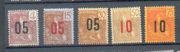 INDO 507 -  YT 59 à 61 - 63-64 * - Neufs