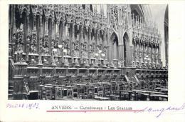 BELGIQUE - ANVERS - ANTWERPEN -  Cathédrale: Les Stalles. - Antwerpen