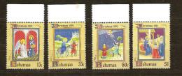Bahamas Bahama's 1991 Yvertn° 755-58  *** MNH Cote 8 Euro Noel Kerstmis Christmas - Bahamas (1973-...)