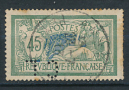 FRANCE (1907), Type MERSON N° 143 (YT) Perforé - France