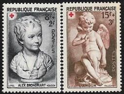 CROIX ROUGE  N° 876  / 877 FRANCE -   1950  Neuf - Francia
