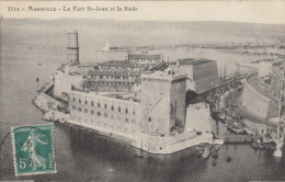 13 - MARSEILLE -  LE FORT ST JEAN ET LA RADE - Marsiglia