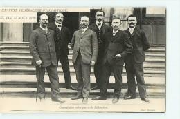 LYON - XXè Fête Fédérale - Concours De Gymnastique 13,14 Et 15 Août 1910 - Commission Technique - TBE - 2 Scans - Gimnasia