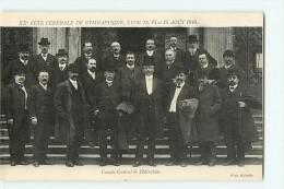 LYON - XXè Fête Fédérale - Concours De Gymnastique 13,14 Et 15 Août 1910 - Comité Central - TBE - 2 Scans - Gimnasia