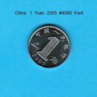 CHINA---Peoples Republic   1  YUAN  2005  (Y # 1069) - China