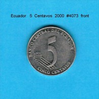 ECUADOR    5  CENTAVOS  2000  (KM # 105) - Ecuador