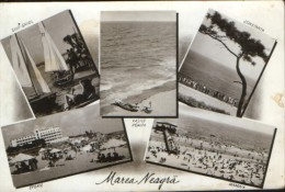 Romania-  Postcard 1958- Black Sea - Romanian Seaside Resorts,collage Of Images  - 2/scans - Romania