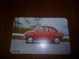 BC7-2-20 Publicité Fiat 500 Voir Scan Verso 13x8,5CM - Publicidad