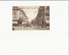 Reims  51    La Rue Talleyrand Tres Tres Animée Attelage - Reims