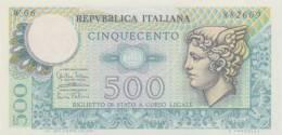 ITALY  P. 94 500 L 1974 UNC  (serie Speciale) - 500 Lire
