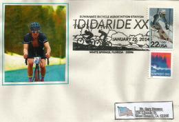 ETATS-UNIS. Course Cycliste De White Springs, Floride (Suwannee Bicycle Association) Enveloppe Souvenir - Wielrennen