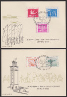 """DDR Gedenkblatt Leipzig """"III. Deutsches Turn- Und Sportfest 1959"""" Sport Pauschenpferd Hochsprung Ringe - DDR"""