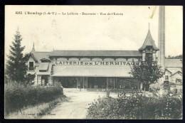 Cpa Du 35 L' Hermitage La Laiterie - Beurrerie - Vue De L' Entrée ...  Mordelles Rennes    LEG8 - Rennes