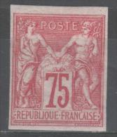 Colonie Française  N° 28a (Carmin)  Neuf * Gomme D'Origine  TB - Sage