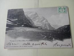 Paturage De La Varre (Alpes Vaudoises) 1906 - Schweiz