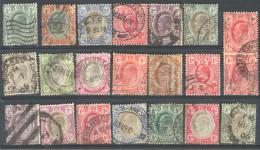 3Rv635: Restje Van 20 Zegels. TRANSVAAL + 1 CAPE OF GOOD HOPE.... Diverse .... Om Verder Uit Te Zoeken.... - Transvaal (1870-1909)