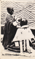 Barber Shop An African Coiffere Real Photo - Postcards
