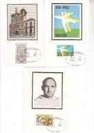 Carte Maximum A6 Soie 1918-20 Ben Ahin - Maximumkarten (MC)